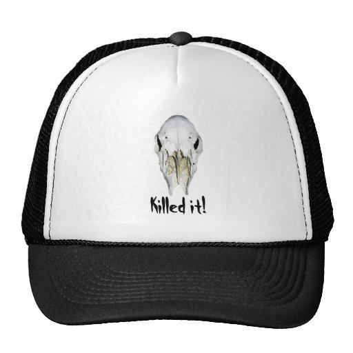 Deer hunter's killed it hat
