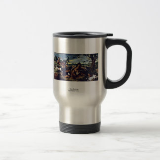 Deer Hunting By Snyders Frans Travel Mug
