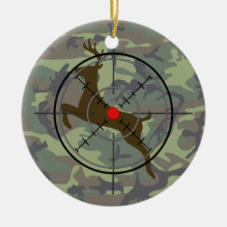 Deer Hunting Camouflage Christmas Ornament