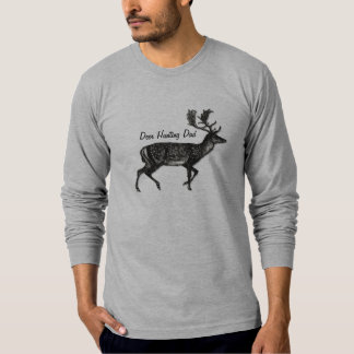 Deer Hunting Dad Custom Name or Slogan T-Shirt