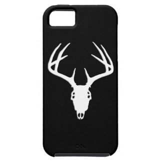 Deer Hunting - Deer Skull Silhouette iPhone 5 Case
