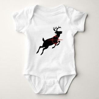 Deer Hunting- Deer with crosshairs on it T Shirt