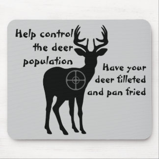 Deer Hunting Mousepad