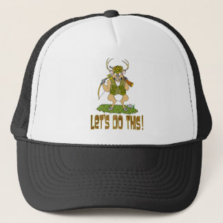 Deer Hunting Revenge Trucker Hat