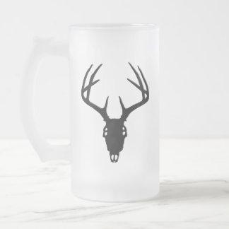 Deer Hunting Skull w/ Antlers Mug