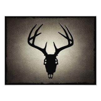 Deer Hunting Skull w/ Antlers Photographic Print