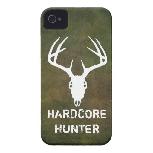 Deer hunting skull with antlers blackberry bold cover