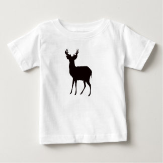 deer image on child t shirt in atractive look