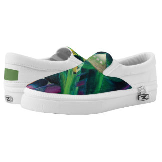 Deer in a Monastery Garden by Franz Marc Slip-On Shoes