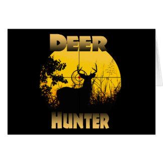 Deer In Cross Hairs Card