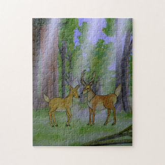 Deer in Forest Puzzle