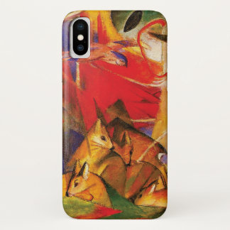 Deer in the Forest by Franz Marc iPhone X Case