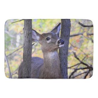 Deer in the Woods Bath Mat