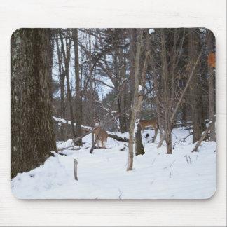 Deer In The Woods, Mousepad