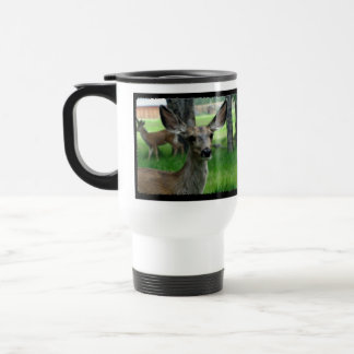Deer in the Yard Travel Mug