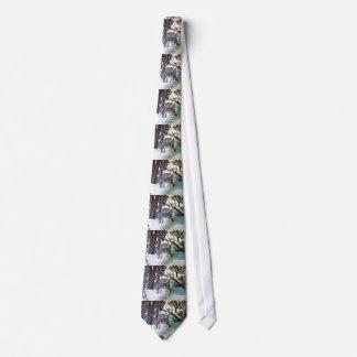 DEER IN WINTER tie