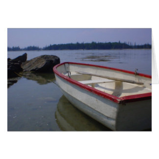Deer Isle Row Boat Card