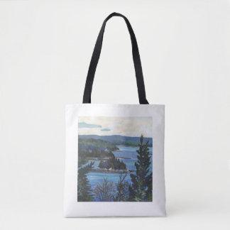 """Deer Isle Thoroughfare"" Tote Bag"