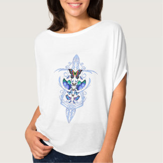 Deer king, butterfly tribal crown T-Shirt