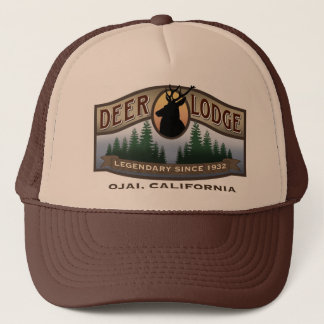 Deer Lodge Trucker Hat
