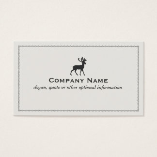 Deer Logo Business Card