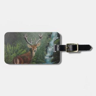 Deer Luggage Tag