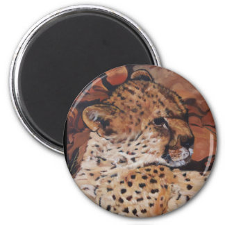 Deer-magnet 6 Cm Round Magnet