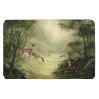 Deer Manget Rectangular Photo Magnet