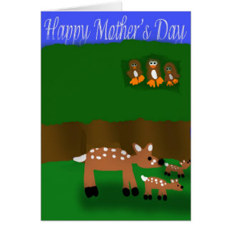 Deer Mother's Day Card