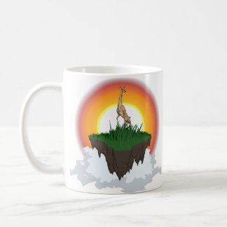 Deer on floating island mug