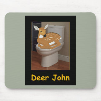 Deer or Dear john Mouse Pad