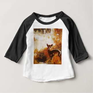 Deer painting baby T-Shirt