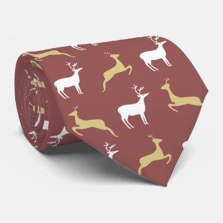 Deer Pattern Tie