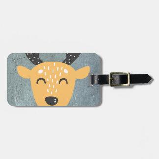 Deer Phase Luggage Tag