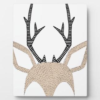 Deer Plaque