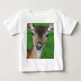 Deer Portrait Photography Wildlife Baby T-Shirt