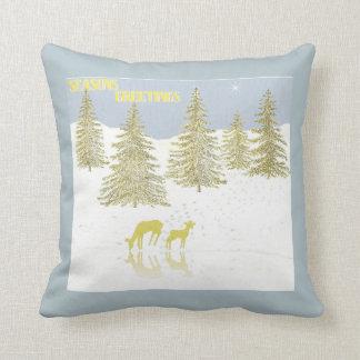 Deer Reflection Cushion