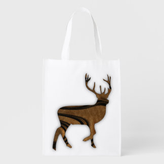 Deer Reusable Grocery Bag