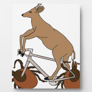 Deer Riding Bike With Deer Tick Wheels Plaque