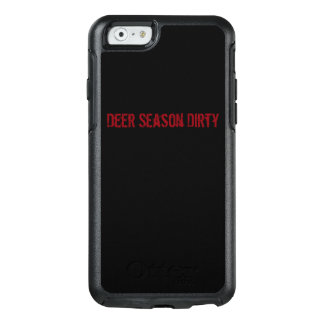 Deer Season Dirty cell phone case