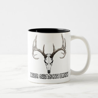 Deer Season Dirty coffee mug