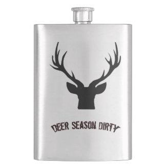 Deer Season Dirty flask