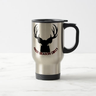Deer Season Dirty travel mug