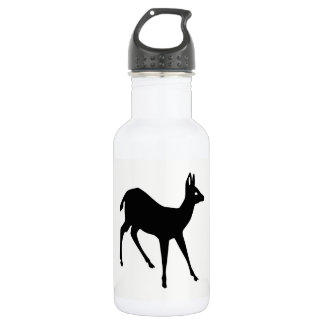Deer Silhouette 532 Ml Water Bottle