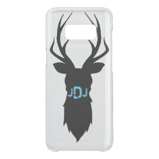 Deer Silhouette Initials Phone Case