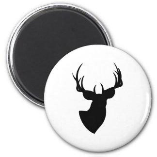 Deer Silhouette Magnets