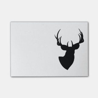 Deer Silhouette Post-it Notes