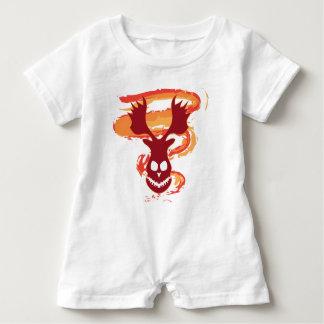 Deer Skull Baby Bodysuit