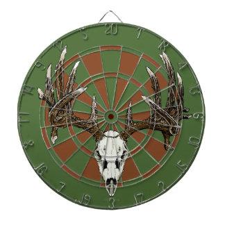 Deer skull dartboards