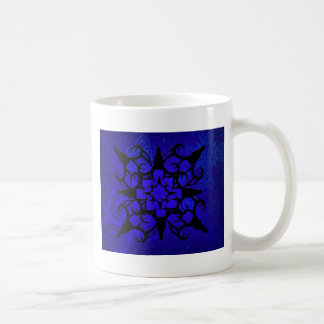 Deer Skull design in blue Coffee Mug